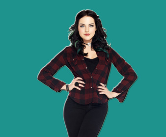 Liz gillies super tv quiz
